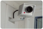 Fake Security Camera w/ blinking LED Light