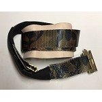 10' Ratchet Strap w/Leather Protector in Camo, for Carts and Smaller Tool Boxes by Gus Gilstrap